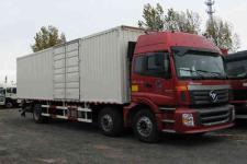 福田欧曼国五前四后四厢式运输车211-301马力10-15吨(BJ5257XXY-XA)
