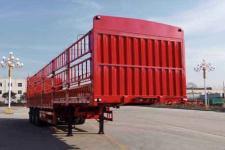 恩信事业牌HEX9380CCYE型仓栅式运输半挂车