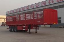 梁郓牌SLY9400CCY型仓栅式运输半挂车图片
