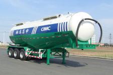 凌宇牌CLY9406GFL型低密度粉粒物料运输半挂车图片