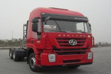 红岩牌CQ4256HTG384TB型半挂牵引汽车图片