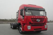 红岩牌CQ4256HTG384TBC型集装箱半挂牵引车图片