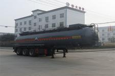 特运牌DTA9406GFW型腐蚀性物品罐式运输半挂车