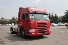 解放牌CA4186P2K2E5A80型平头柴油牵引车图片
