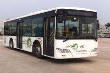 金龙牌XMQ6106AGCHEVD51型混合动力城市客车图片