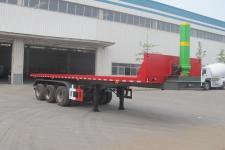 圣岳10米32吨3轴平板自卸半挂车(SDZ9401ZZXP)