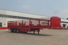 豫前通牌HQJ9370CCYE型仓栅式运输半挂车图片