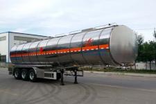 昌骅牌HCH9401GRYMR型铝合金易燃液体罐式运输半挂车