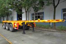 醒狮牌SLS9402TWY型危险品罐箱骨架运输半挂车图片