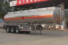 程力威牌CLW9403GYYALV型铝合金运油半挂车