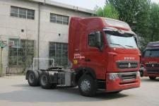 豪沃牌ZZ4257W324HE1Z型集装箱半挂牵引车