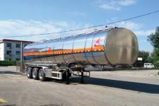 昌骅牌HCH9407GRY型铝合金易燃液体罐式运输半挂车