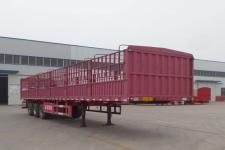 豫前通12.5米30.6吨3仓栅式运输半挂车