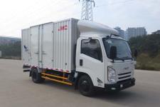 江铃汽车国五单桥厢式运输车116-129马力5吨以下(JX5040XXYXGC2)