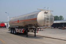 盛润牌SKW9403GYYL型铝合金运油半挂车图片