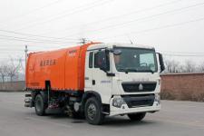 圆易牌JHL5160TXS型洗扫车图片