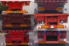 万荣牌CWR9400CCY型仓栅式运输半挂车图片
