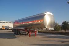 骏通12.4米33吨3轴铝合金易燃液体罐式运输半挂车(JF9406GRY)