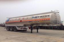 瑞江牌WL9407GYYA型铝合金运油半挂车