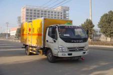 江特牌JDF5080XRYB5型易燃液体厢式运输车