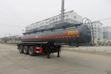 特运牌DTA9406GFWB型腐蚀性物品罐式运输半挂车