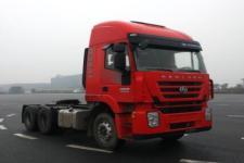 红岩牌CQ4256HXDG334C型集装箱半挂牵引车图片