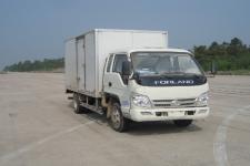 福田牌BJ5076XXY-AF型厢式运输车图片