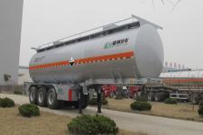 盛润牌SKW9403GFWT型腐蚀性物品罐式运输半挂车图片