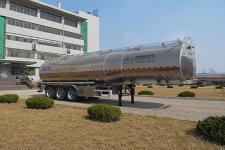 盛润牌SKW9405GYSL型铝合金液态食品运输半挂车图片