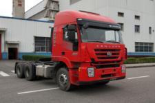 红岩牌CQ4256HTVG334C型集装箱半挂牵引车图片