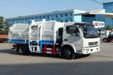 程力威牌CLW5080ZDJT5型压缩式对接垃圾车
