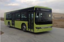 10.5米|30-34座易圣达混合动力城市客车(QF6100HEVNG)