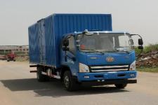 解放牌CA5091XXYP40K2L2E5A84型厢式运输车图片