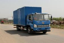解放牌CA5061XXYP40K2L2E5A84型厢式运输车图片