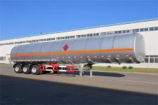 黄海牌DD9405GRYB型铝合金易燃液体罐式运输半挂车