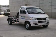 银盾牌JYC5020ZXXBEVKM3型纯电动车厢可卸式垃圾车图片