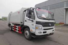 华林牌HLT5120ZYSE6型压缩式垃圾车