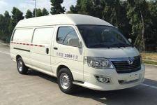 申龙牌SLK5030XXYE0BEV01型纯电动厢式运输车图片
