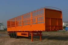 明威牌NHG9380CCY型仓栅式运输半挂车