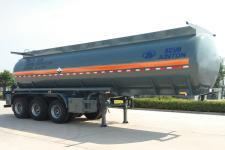 骏通牌JF9403GFW型腐蚀性物品罐式运输半挂车图片