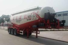 骏通9.6米31.4吨3轴中密度粉粒物料运输半挂车(JF9400GFL40)