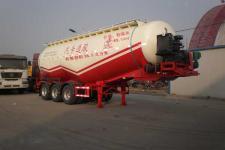 骏通9.9米30.7吨3轴中密度粉粒物料运输半挂车(JF9402GFL)