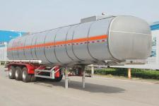 骏通11.9米32.8吨3轴铝合金食用油运输半挂车(JF9401GSY)