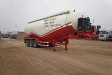 骏通牌JF9401GFL49型低密度粉粒物料运输半挂车图片