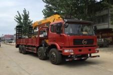 国五楚风前四后八随车起重运输车的价格13607286060