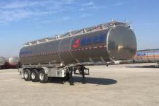 昌骅牌HCH9401GSY40型铝合金食用油运输半挂车图片