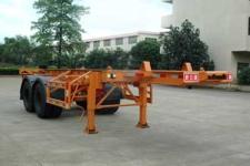 新日钢牌FFR9340TWYA型危险品罐箱骨架运输半挂车图片
