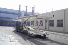 梁山东岳牌CSQ9180TCL型中置轴车辆运输挂车图片