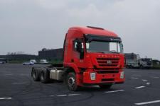 红岩牌CQ4256HTDG334型半挂牵引汽车图片
