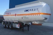中集牌ZJV9405GYYJM型铝合金运油半挂车图片
